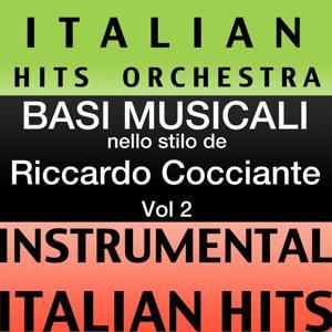 Basi musicale nello stilo dei riccardo cocciante (instrumental karaoke tracks), Vol. 2