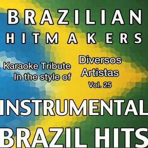 Playback ao Estilo de Diversos Artistas (Instrumental Karaoke Tracks) Vol.25