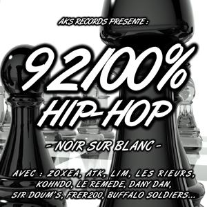 92100% Hip-hop, vol. 3 (Noir sur blanc)