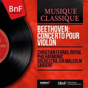 Beethoven: Concerto pour violon (Stereo Version)