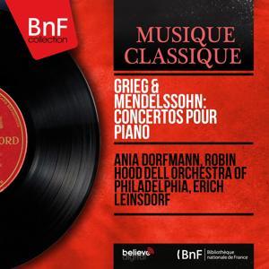 Grieg & Mendelssohn: Concertos pour piano (Mono Version)