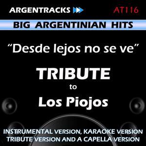 Desde lejos no se ve - Tribute to Los Piojos - EP