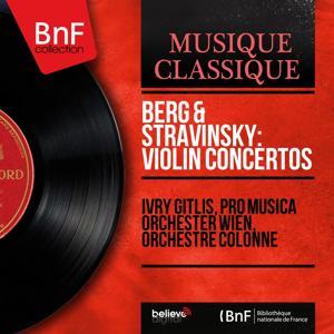 Berg & Stravinsky: Violin Concertos (Mono Version)