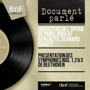Présentation des symphonies Nos. 1, 2 & 3 de Beethoven (Remastered, Mono Version)