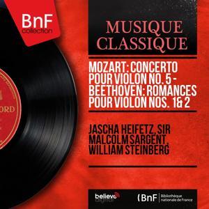 Mozart: Concerto pour violon No. 5 - Beethoven: Romances pour violon Nos. 1 & 2 (Mono Version)
