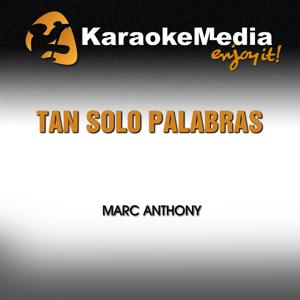 Tan Solo Palabras (Karaoke Version) (In The Style Of Marc Anthony)