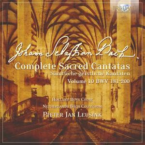 J.S. Bach: Complete Sacred Cantatas Vol. 10, BWV 181-200