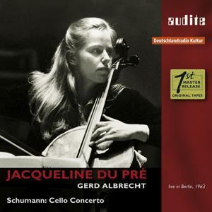 Jacqueline du Pré Plays Schumann Cello Concerto (1963 Live Recording with the 18-Year-Old Jacqueline du Pré)