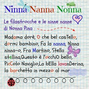 Ninna nanna, nonna (Filastrocche e ninne nanne italiane)