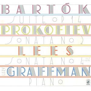 Lees: Sonata No. 4; Bartók: Suite for Piano, Op. 14 (Sz 62); Prokofiev: Sonata No. 2 in D Minor for Piano, Op. 14
