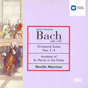 Bach: Suites Nos 2-4