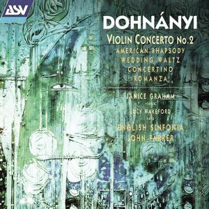 Dohnányi: Violin Concerto No. 2; American Rhapsody; Wedding Waltz; Harp Concertino etc