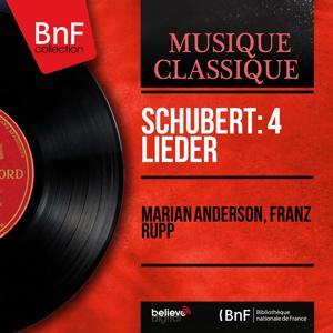 Schubert: 4 Lieder (Mono Version)