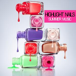 Highlight Nails Summer Music
