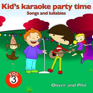 Kid's Karaoke Party Time, Vol. 3 (Songs and Lullabies)
