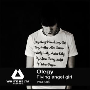 Flying angel girl