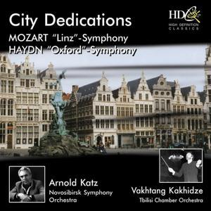 Mozart, Haydn, City Dedications (Symphony No.36 in C Major, Linz, K. 425; Symphony No.92 in G Major, Oxford)