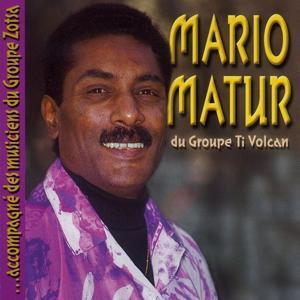 Mario Matur du groupe Ti Volcan