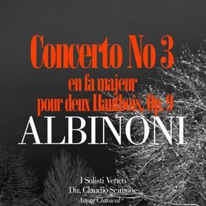 Albinoni: Concerto No. 3 en fa majeur pour deux Hautbois, Op. 9