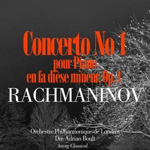 Rachmaninov: Concerto pour piano No. 1 en fa dièse mineur, Op. 1