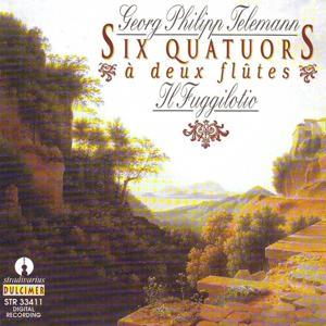 Telemann : Six quatuors à deux flûtes
